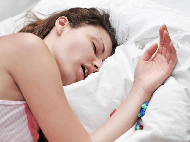 Porque es malo dormir con la boca abierta