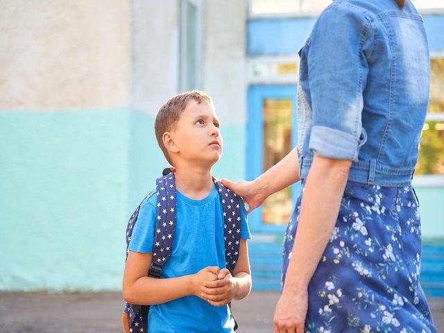 Porque mi hijo no quiere ir al colegio