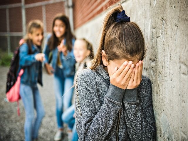 cuando un niño sufre de bullying